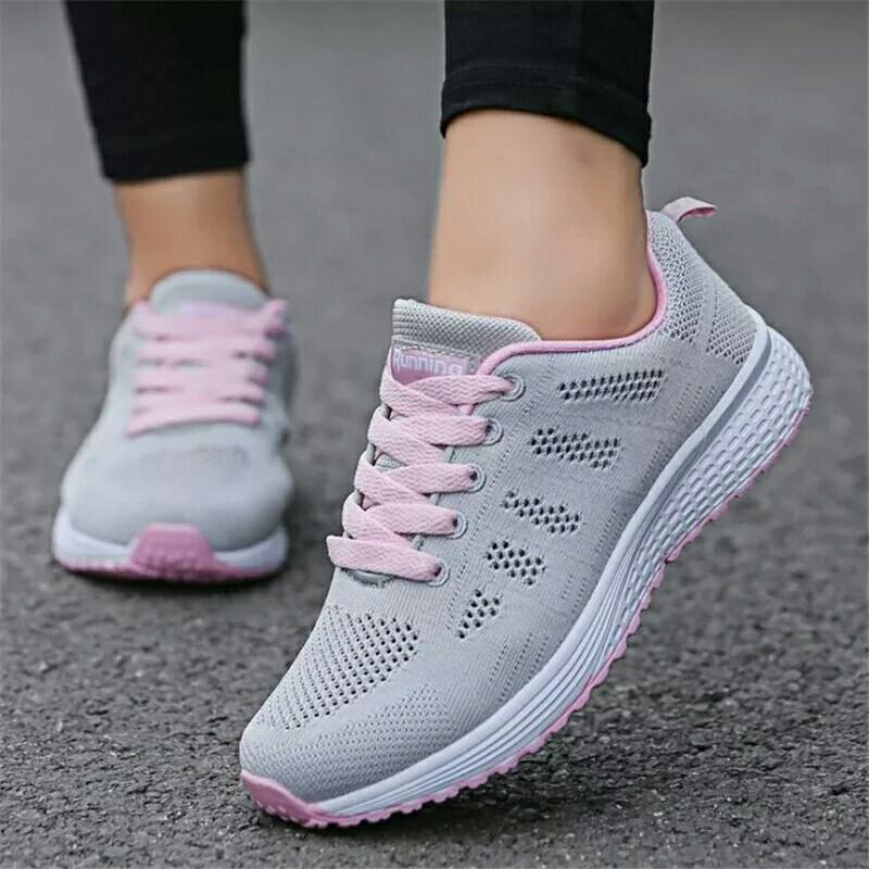0892f6400 Women casual shoes fashion breathable Walking mesh, Women's Fashion ...