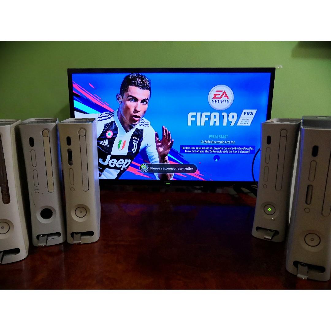 Xbox 360 Jtag + FIFA 2019 (LATEST)