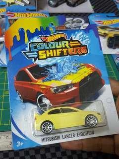 Hotwheels Evo Colour Shifter