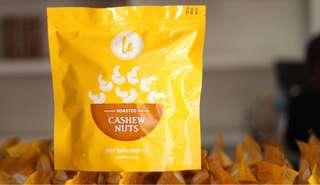 Roasted Salted Cashew Nuts with Skin - 1KG