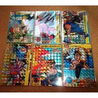 Super Street Fighter 2 The new challenge carddass complete prism set rare