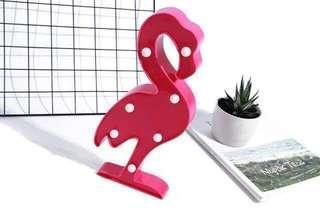 Flamingo LED Home & Party Deco Light (READY STOCK)