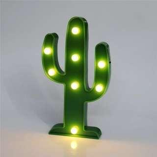 Cactus LED Home & Party Deco Light