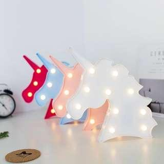 Unicorn LED Home & Party Deco Light (Ready Stock)
