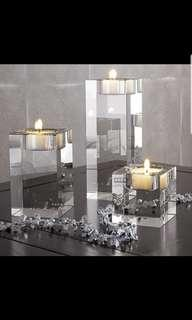 Pre order candle holders 1 set 3pcs size smL