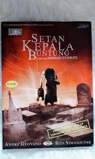 """VCD Horor Indonesia """" SETAN KEPALA BUNTUNG """" - Original"""