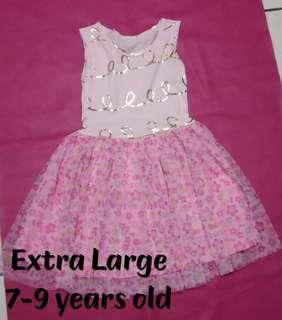 Tutu dress for 7-9 years old ON-HAND STOCKS