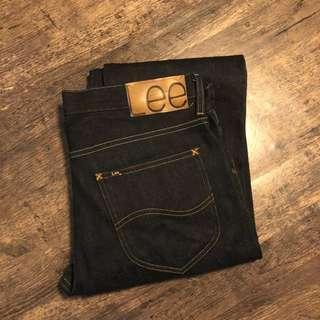 New LEE 101 jeans 19oz 原色牛仔褲 W34