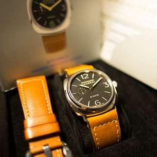 Panerai Pam 190 8 Day Radiomir with JLC 8 day Movement Serial G00X/550