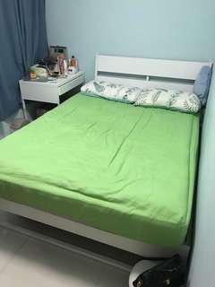 IKEA床架 雙人 四尺半 1.4m