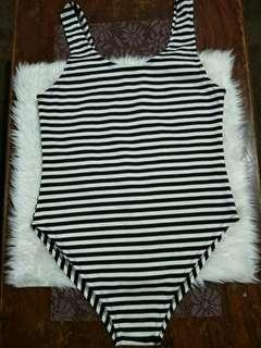 1pc Swimsuit - Stripes