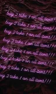 buy2take1 for FREE