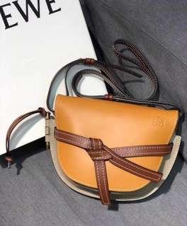 BN Loewe leather Crossbody Bag