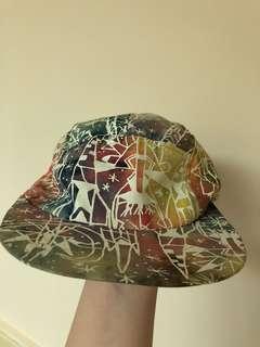 🚚 塗鴉五分割帽