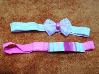 Small bow headbands