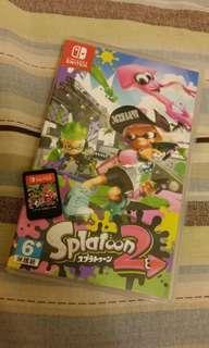 Nintendo Switch «漆彈大作戰2» 遊戲片