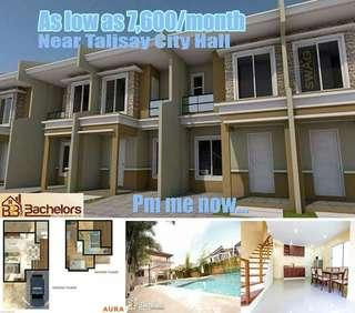 Affordable House and Lot Finished Unit in Talisay City, Cebu