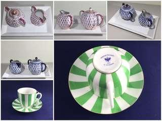 Imperial Porcelain Assorted Tea Set Collectibles from TWG (