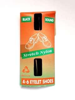 🆕️Nylon Black Shoelaces