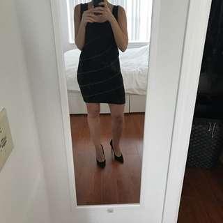 Black & Gold Dress