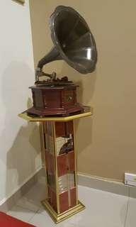Gramophone with Stand