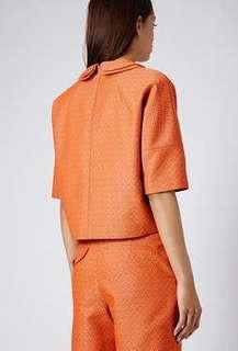 BNWT Topshop Boutique Orange Co-ord