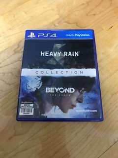 PS4 heavy rain and beyond two souls