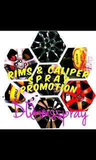 PROMO!!!RIMS N CALIPER SPRAY