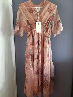 Vicky & Lucas Pink Dress BNWT Size S