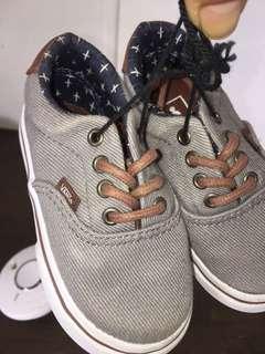 Toddler Vans ( Grey&Brown)6C