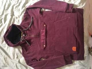 Yuki threads hoodie plum size S
