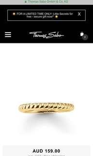 Thomas Sabo Gold Ring