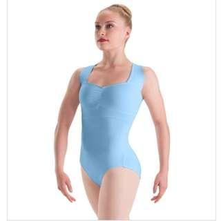HALLOWEEN sky blue leotard Size Adult Medium