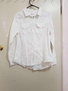 Supre long sleeve cotton buttoned shirt
