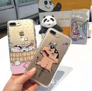 🌸PREORDER🌸 crayon shin chan iphone casing