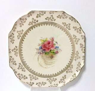 Fine Porcelain Cabinet Plate by H&K Tunstall, England