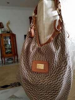 Authentic Boho Style Etienne Aigner Leather Handbag