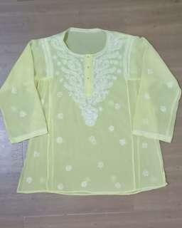Baju India Kuning