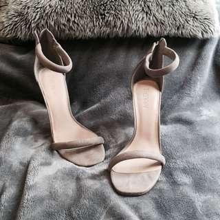 Simple Grey heels