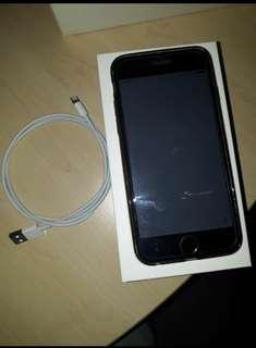 iPhone 6 Plus unlocked for sale with charger and plug