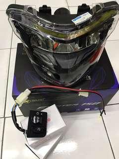 LED ZHIPAT Headlamp Exciter 150