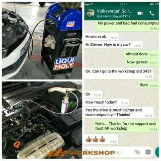 liqui Moly Carbon Cleaning 2+ 1 Package
