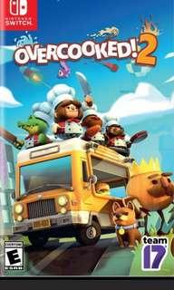 出租。Overcooked 2 switch game