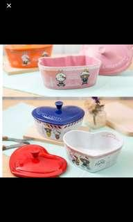 Lines & Hello Kitty Oven Bowl