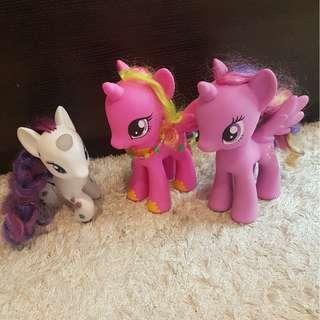 My little pony figurine ( tinggal Rarity dan Twilight Sparkle)