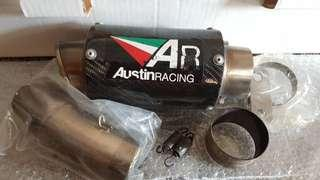 AR Racing exhaust