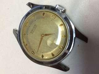Gruen Precision pie Pan dial