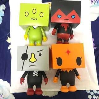 特大豆腐人 To-Fu Oyako tofu DevilRobots公仔figure