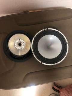 Herts 6 inch speaker with tweeter