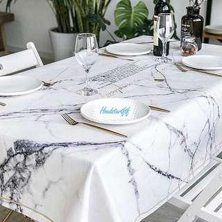 🚚 91)Tablecloth (Marble)